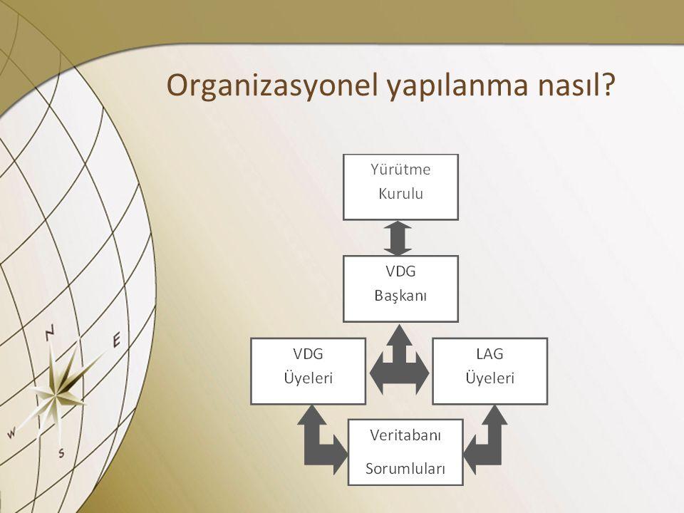 Organizasyonel yapılanma nasıl