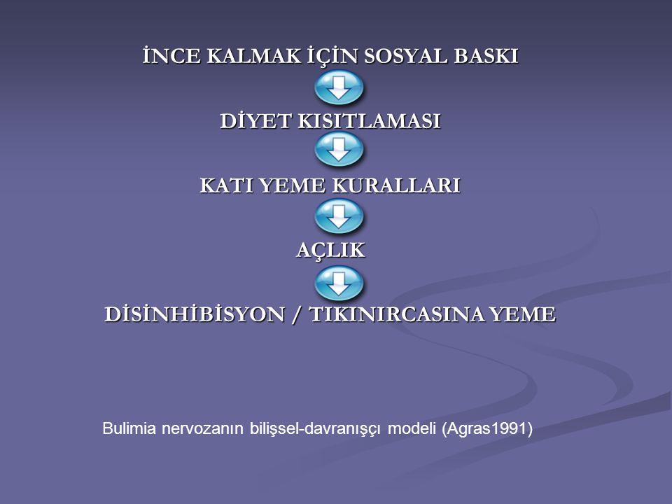 İNCE KALMAK İÇİN SOSYAL BASKI DİSİNHİBİSYON / TIKINIRCASINA YEME