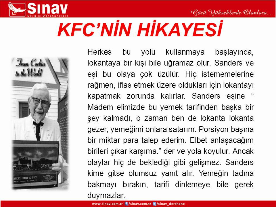 KFC'NİN HİKAYESİ