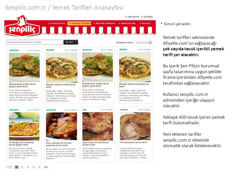 Senpilic.com.tr / Yemek Tarifleri Anasayfası