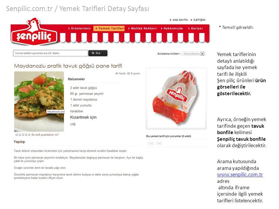 Senpilic.com.tr / Yemek Tarifleri Detay Sayfası