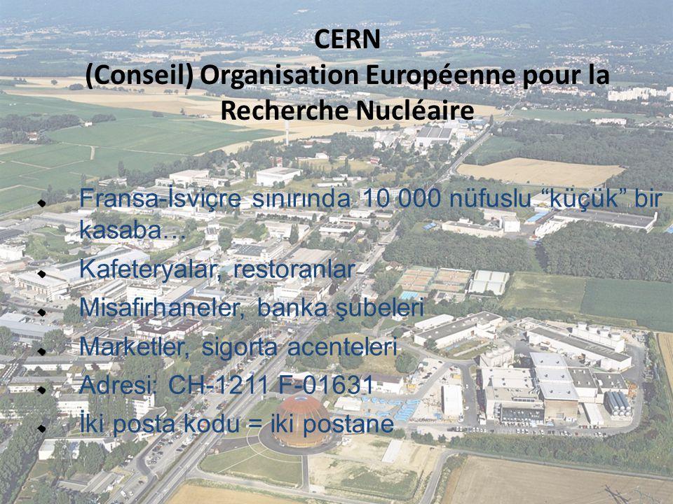 (Conseil) Organisation Européenne pour la Recherche Nucléaire