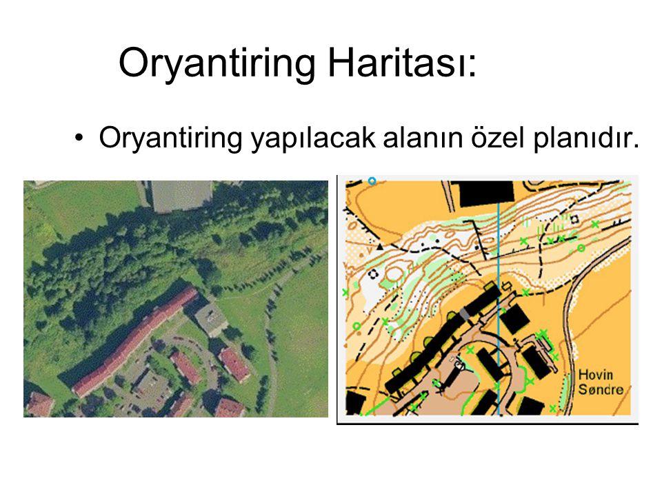 Oryantiring Haritası: