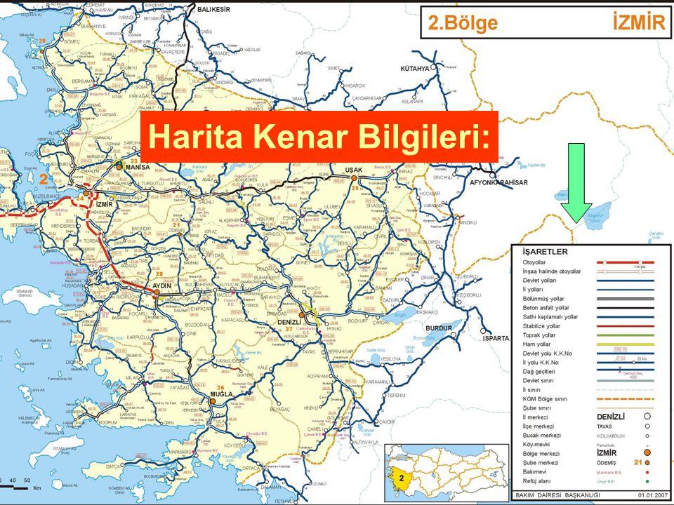 Harita Kenar Bilgileri: