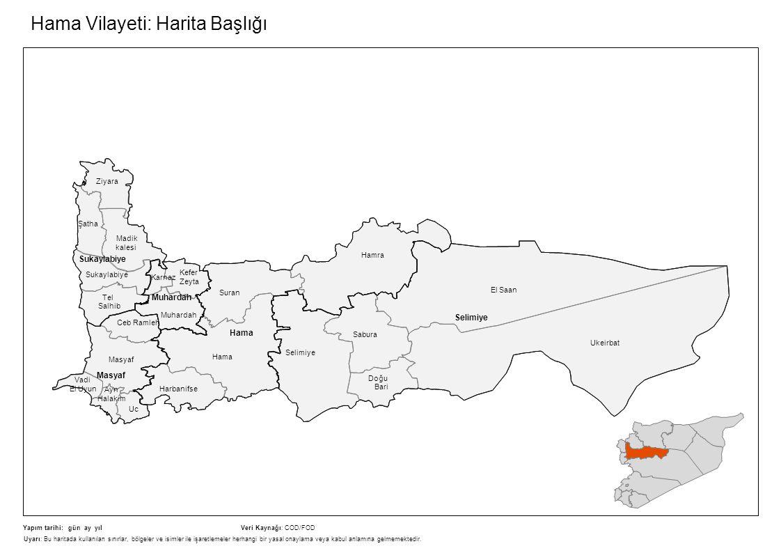 Hama Vilayeti: Harita Başlığı