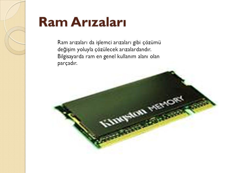 Ram Arızaları