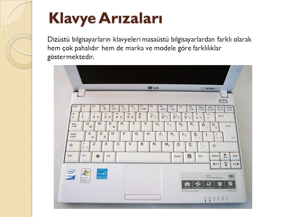 Klavye Arızaları