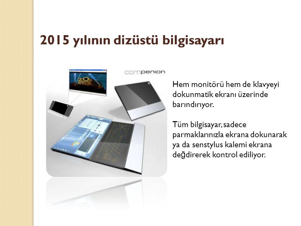 2015 yılının dizüstü bilgisayarı