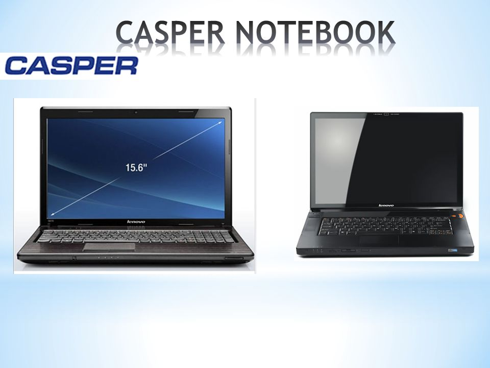 CASPER NOTEBOOK