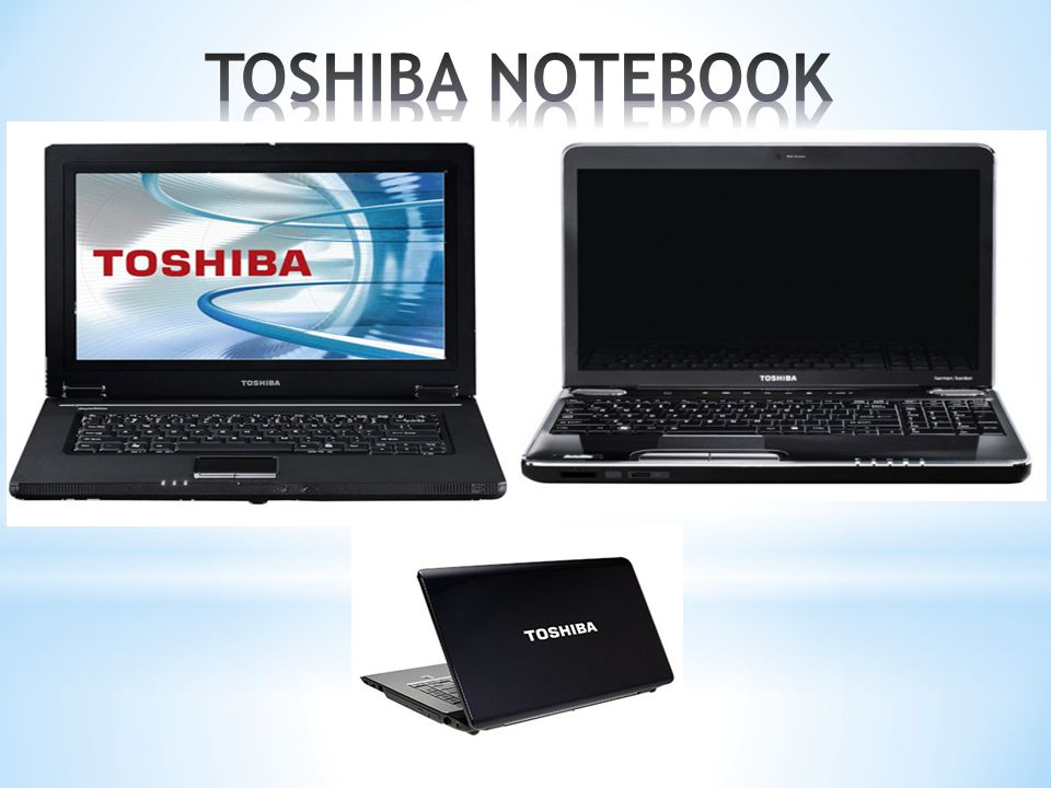 TOSHIBA NOTEBOOK
