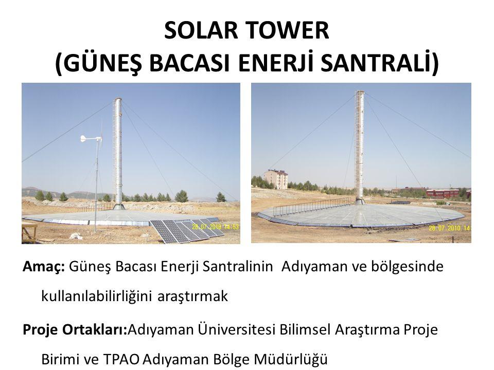 SOLAR TOWER (GÜNEŞ BACASI ENERJİ SANTRALİ)