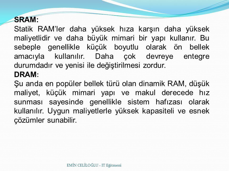 SRAM: