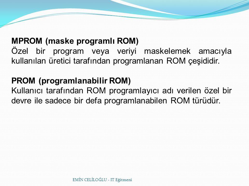 MPROM (maske programlı ROM)