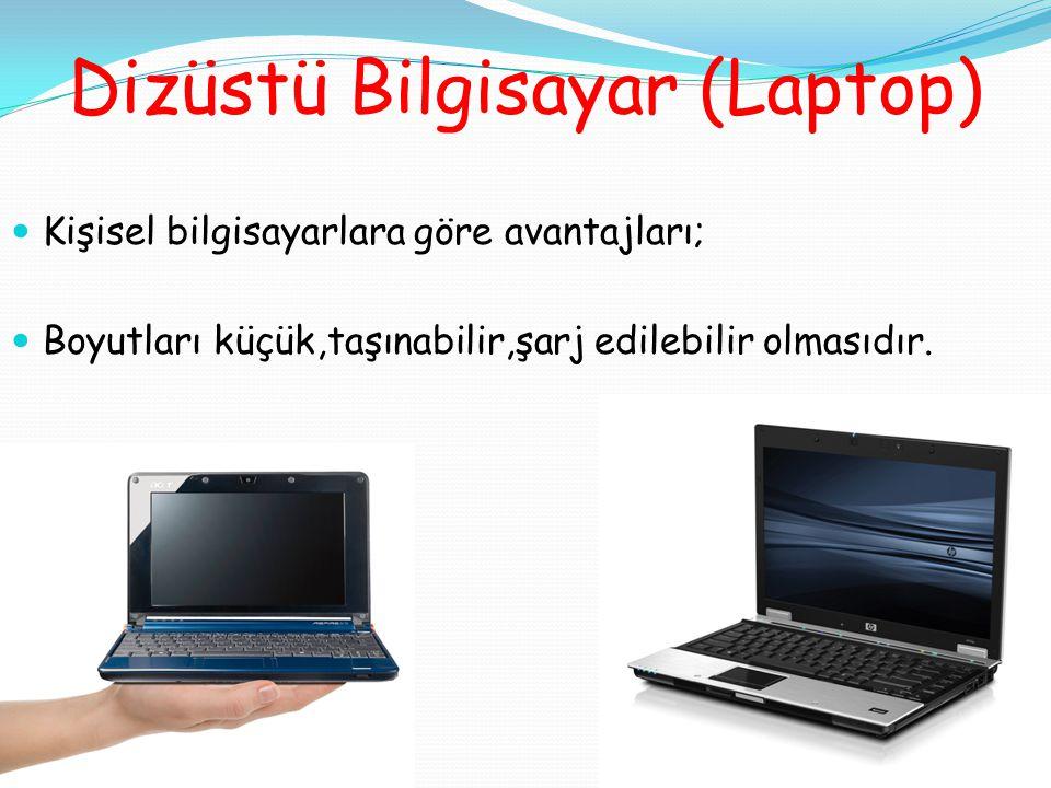 Dizüstü Bilgisayar (Laptop)