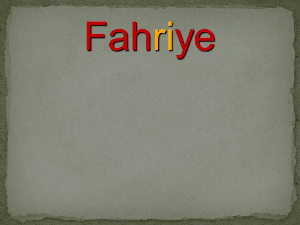 Fahriye