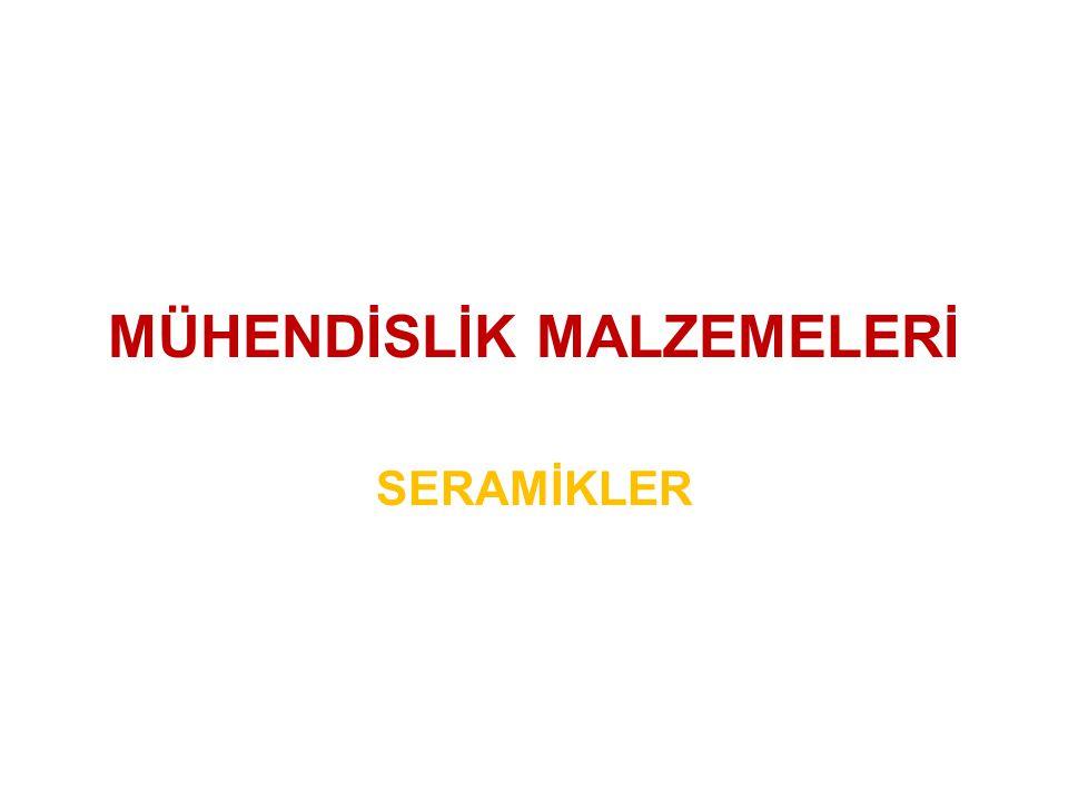 MÜHENDİSLİK MALZEMELERİ
