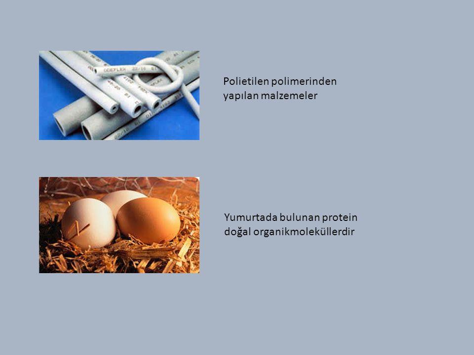 Polietilen polimerinden yapılan malzemeler