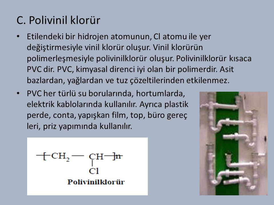 C. Polivinil klorür