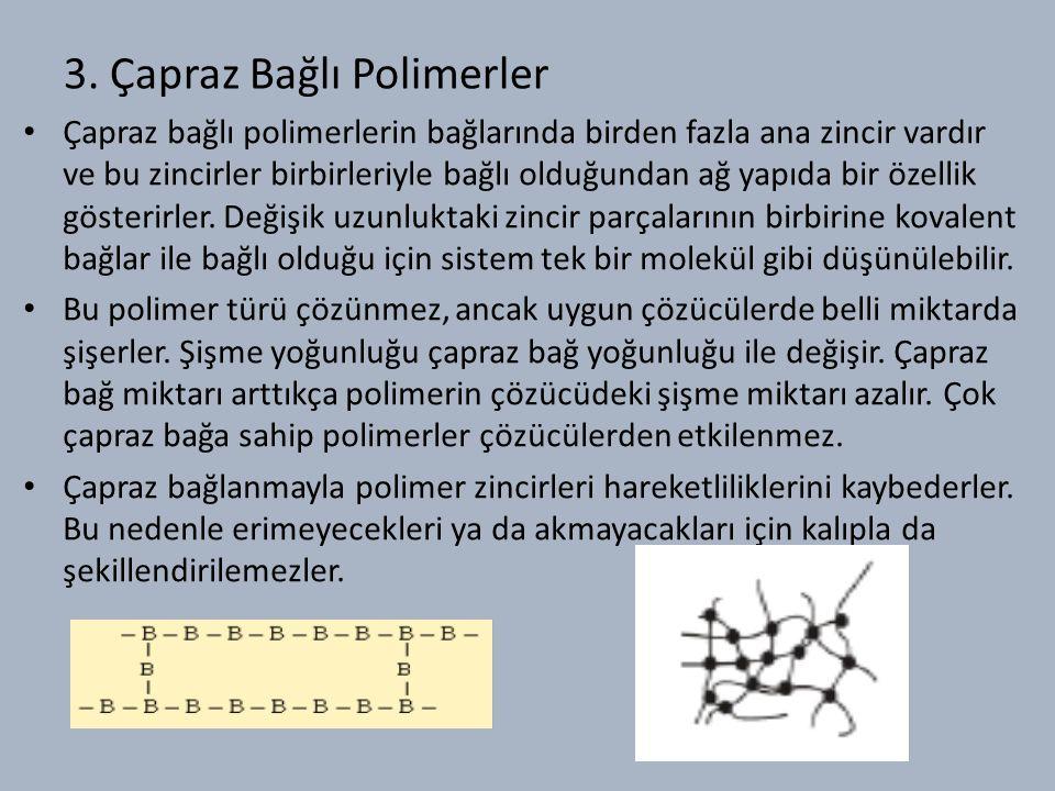 3. Çapraz Bağlı Polimerler