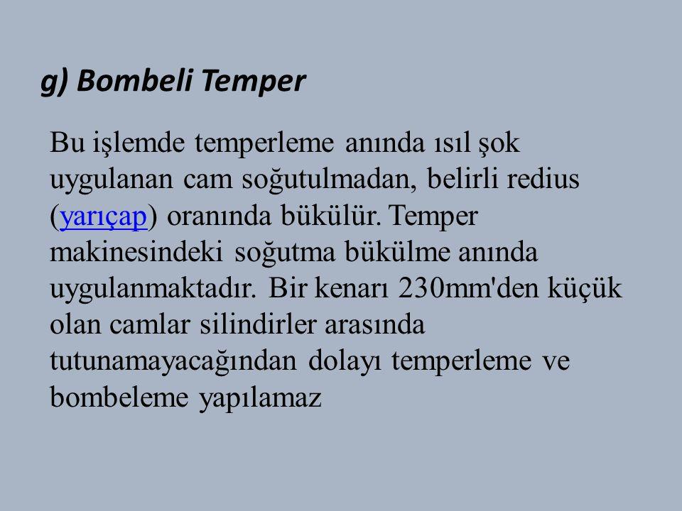 g) Bombeli Temper