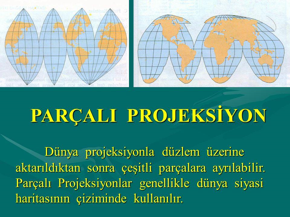 PARÇALI PROJEKSİYON