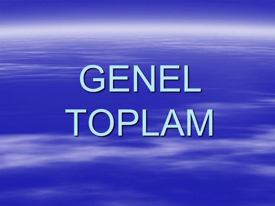 GENEL TOPLAM