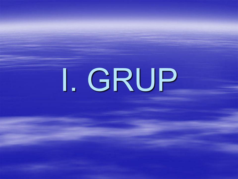 I. GRUP