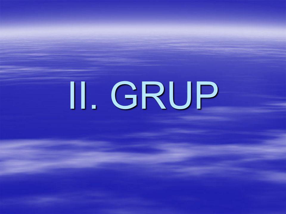 II. GRUP