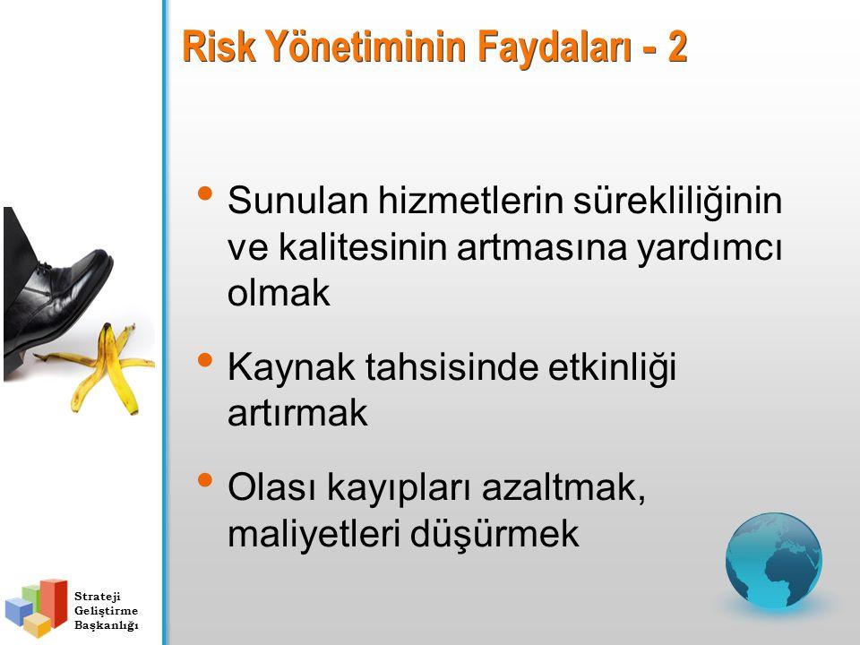Risk Yönetiminin Faydaları - 2
