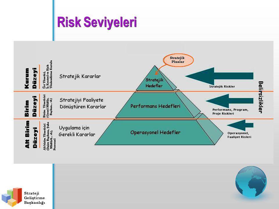 Risk Seviyeleri Strateji Geliştirme Başkanlığı
