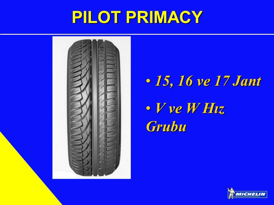 PILOT PRIMACY 15, 16 ve 17 Jant V ve W Hız Grubu