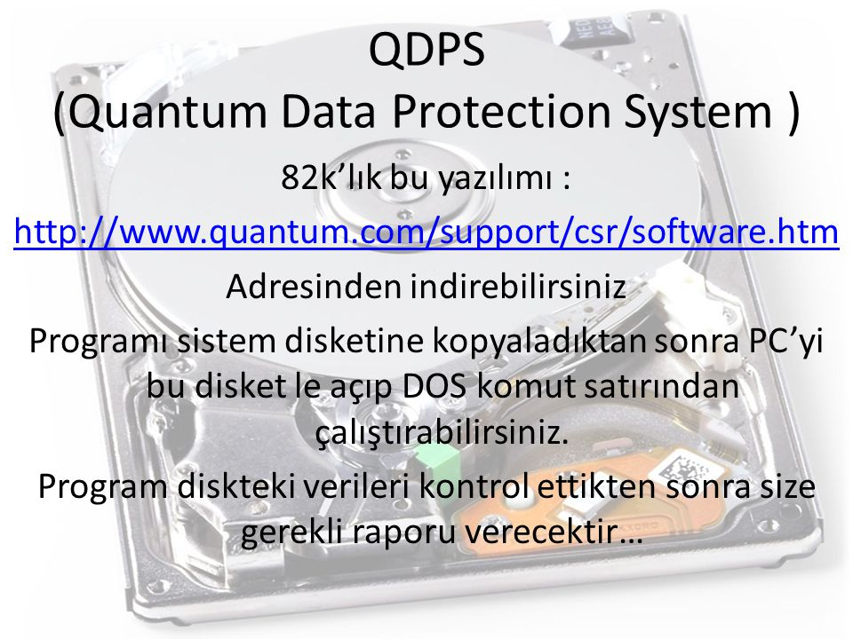 QDPS (Quantum Data Protection System )