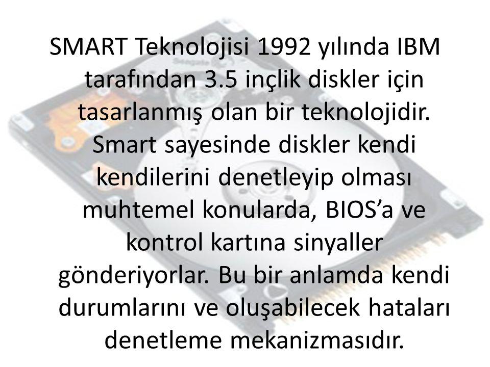 SMART Teknolojisi 1992 yılında IBM tarafından 3