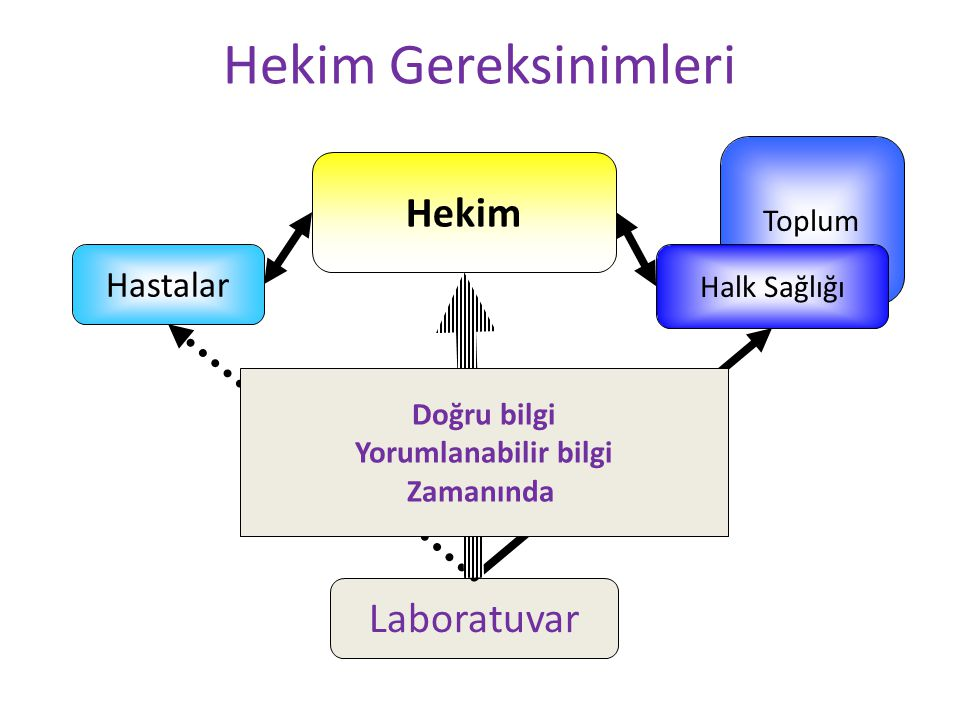 Hekim Gereksinimleri Hekim Laboratuvar Hastalar Toplum Halk Sağlığı