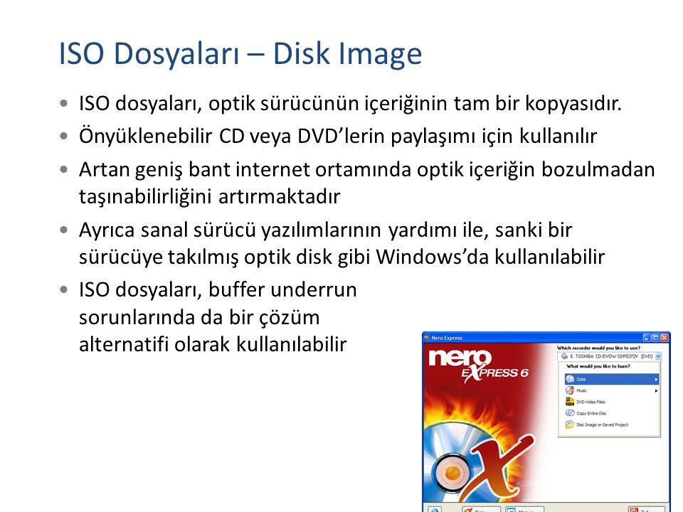 ISO Dosyaları – Disk Image