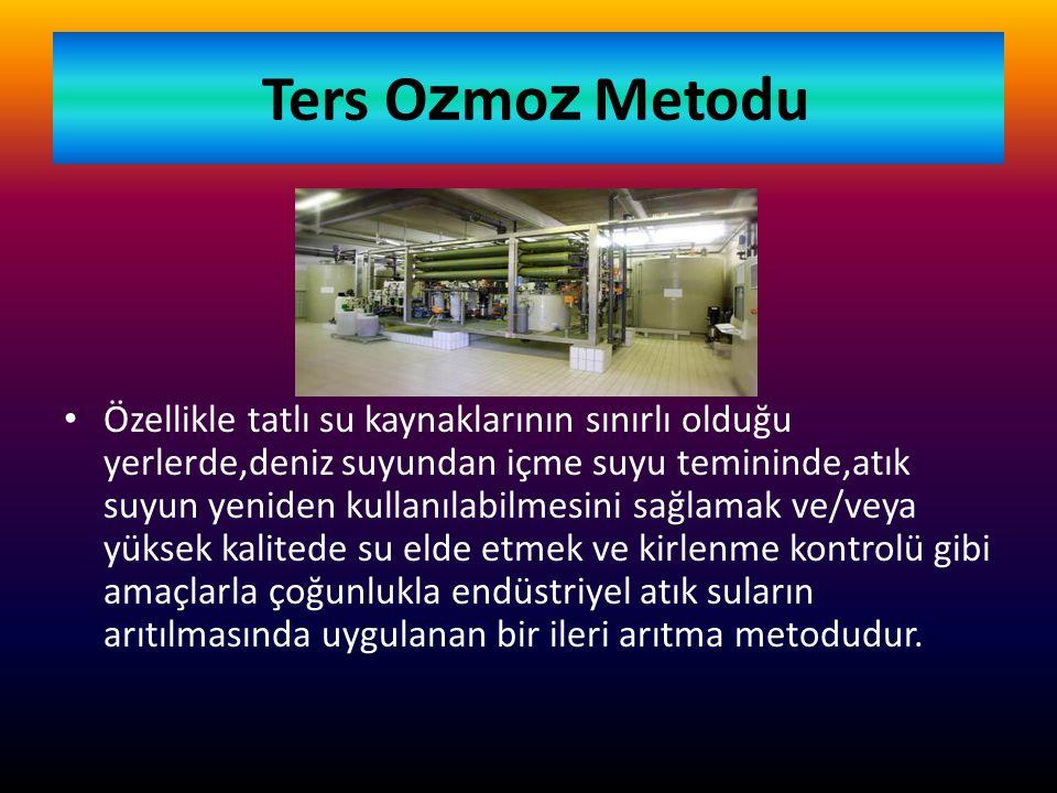Ters Ozmoz Metodu