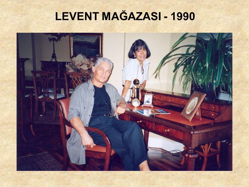 LEVENT MAĞAZASI - 1990