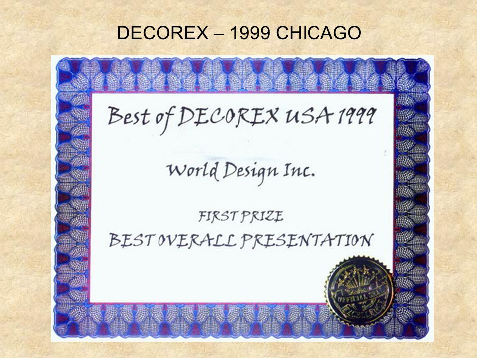 DECOREX – 1999 CHICAGO