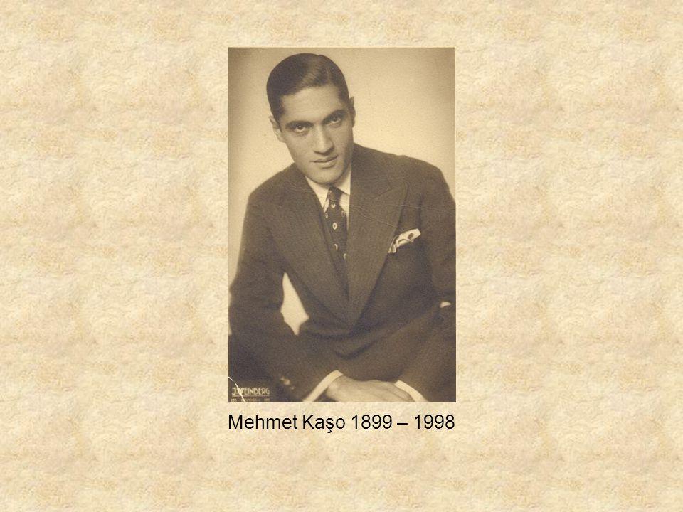 Mehmet Kaşo 1899 – 1998