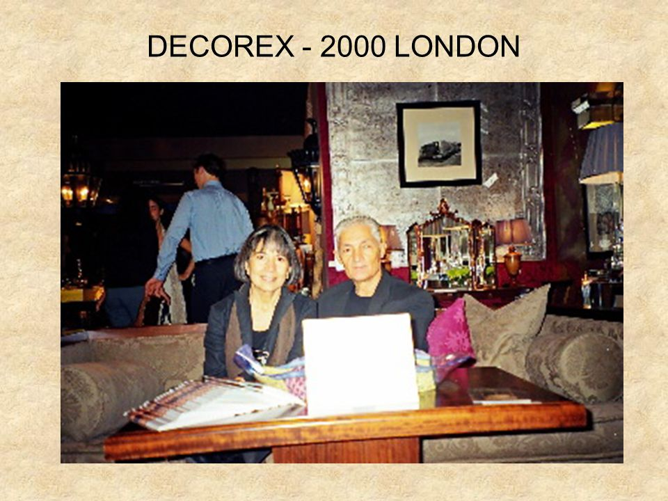 DECOREX - 2000 LONDON