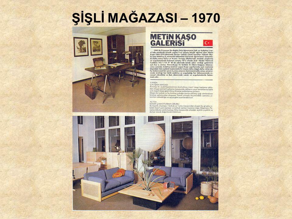 ŞİŞLİ MAĞAZASI – 1970