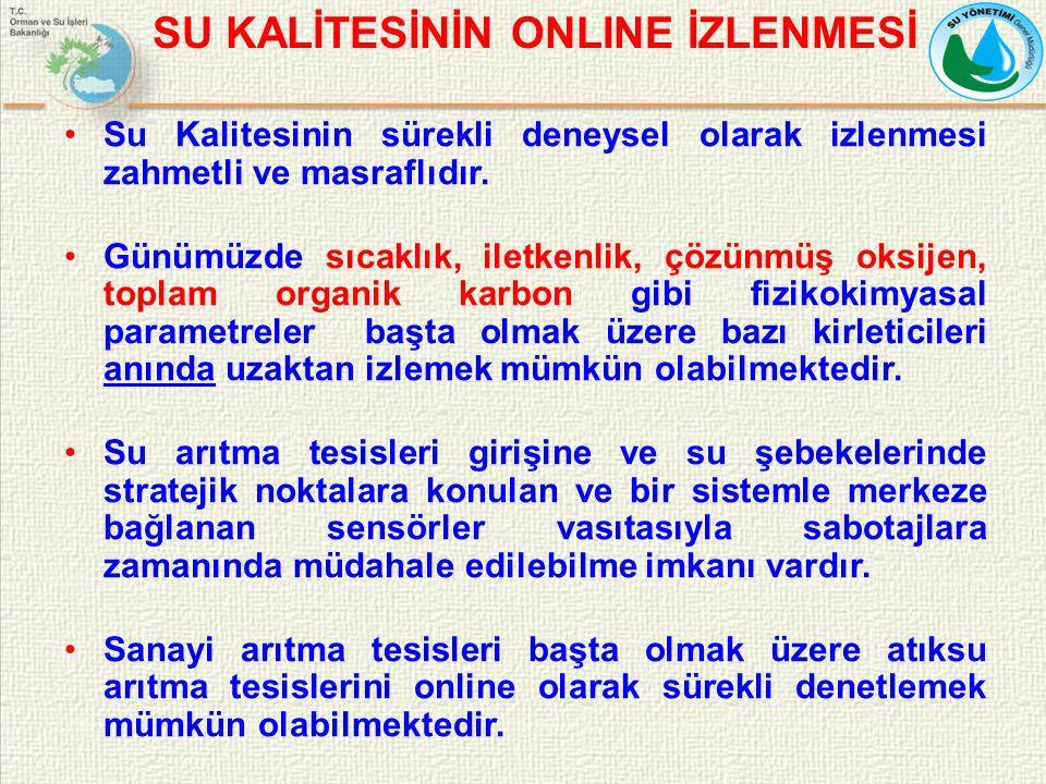 SU KALİTESİNİN ONLINE İZLENMESİ
