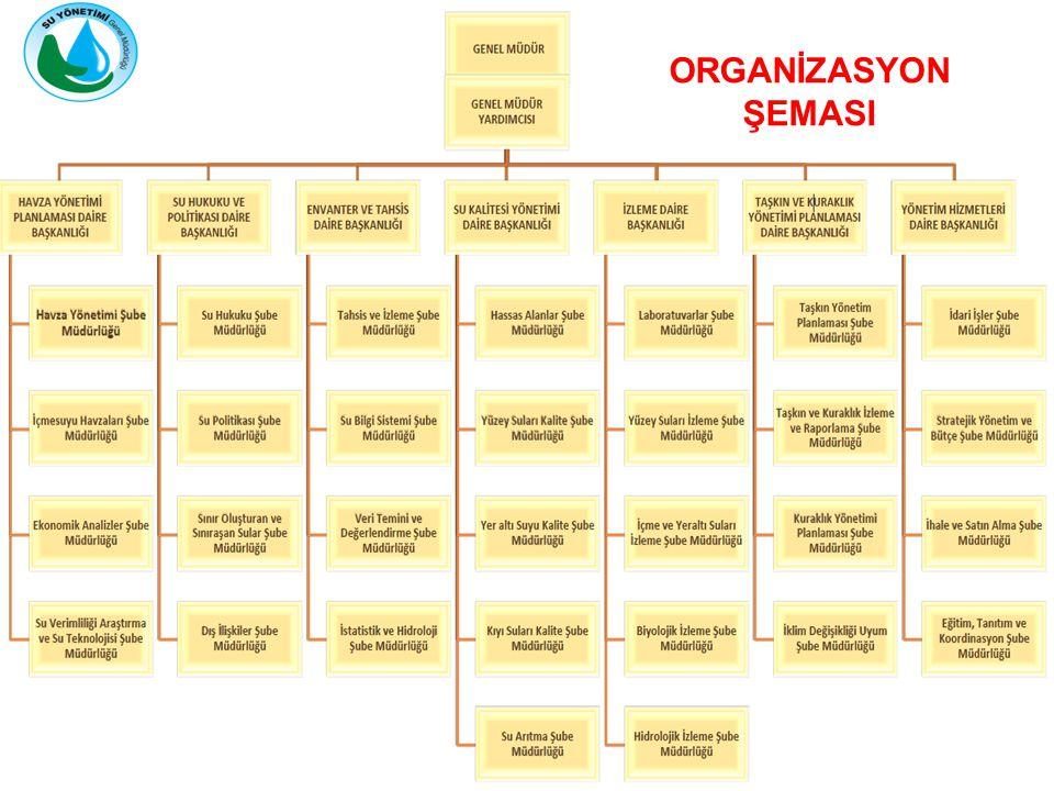 ORGANİZASYON ŞEMASI