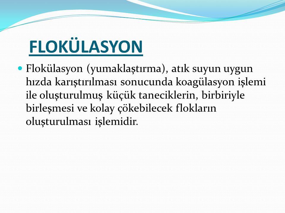 FLOKÜLASYON
