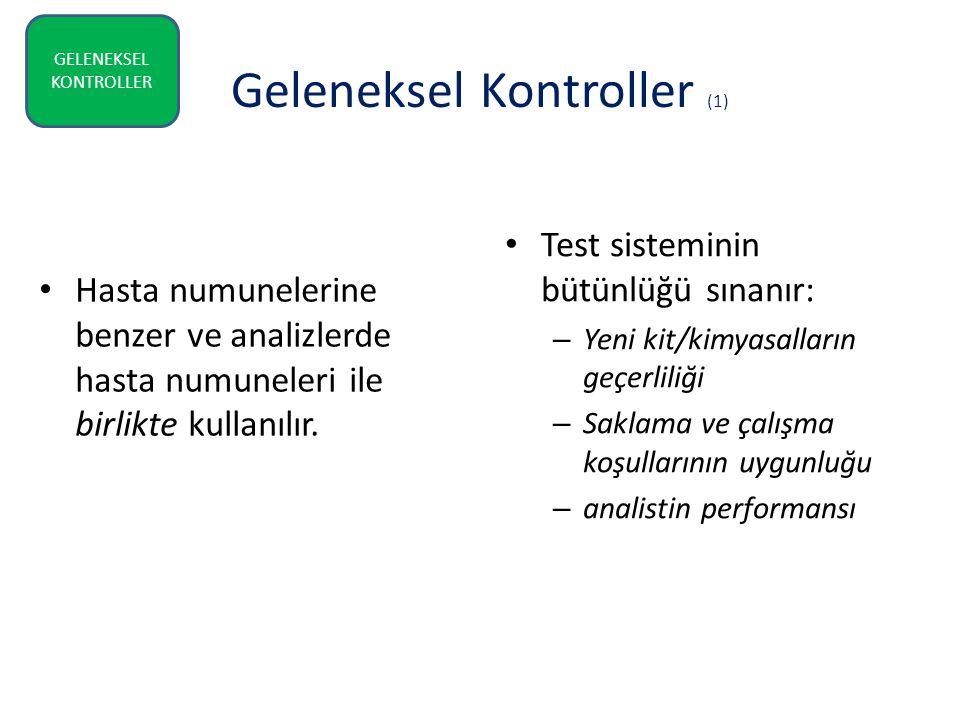 Geleneksel Kontroller (1)