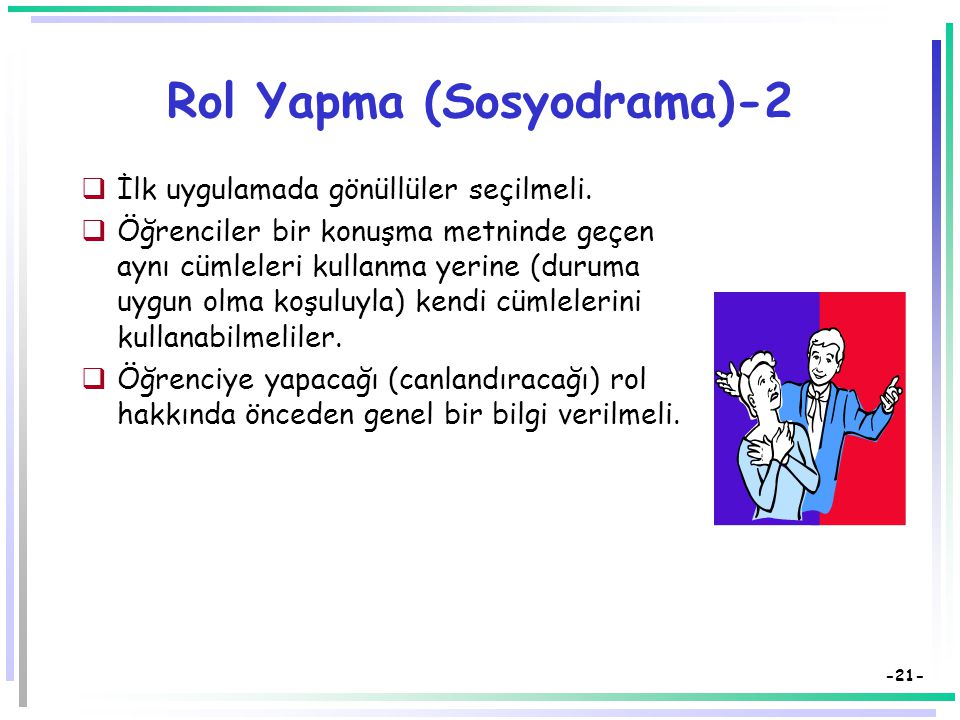 Rol Yapma (Sosyodrama)-2