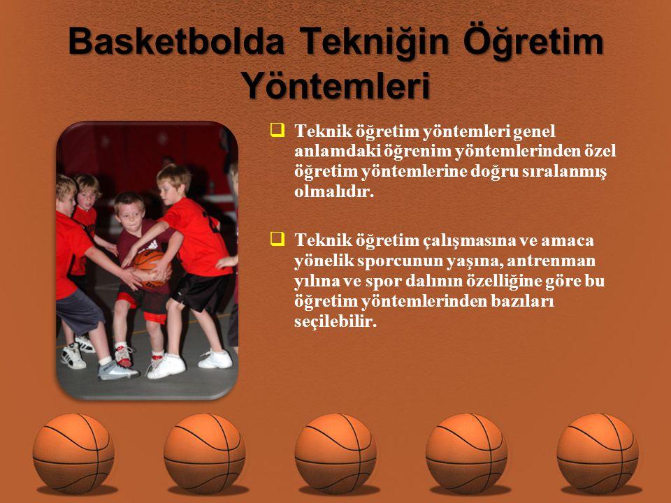 Basketbolda Tekniğin Öğretim Yöntemleri