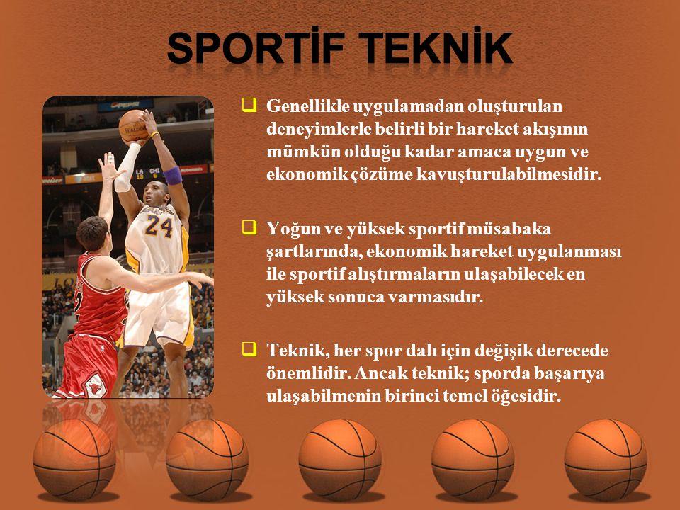 SPORTİF TEKNİK