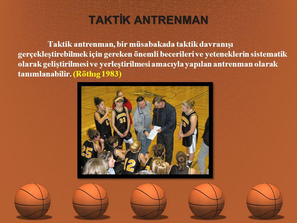 TAKTİK ANTRENMAN