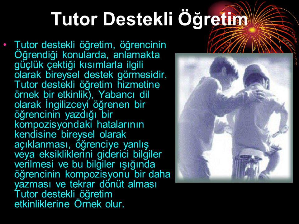 Tutor Destekli Öğretim